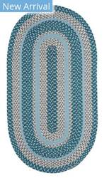 Capel Anthony Baratta Oceanic 382 Aqua Area Rug