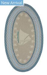 Capel Anthony Baratta Maritime Sailboat 0383 Ocean Area Rug