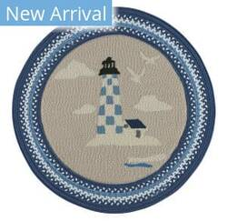 Capel Anthony Baratta Maritime Lighthouse 0385 Dark Blue Area Rug