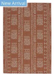 Capel Genevieve Gorder Elsinore Mali Cloth 4722 Cinnamon Area Rug