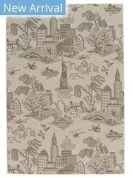 Capel Genevieve Gorder Elsinore Ny Toile 4723 Wheat Area Rug