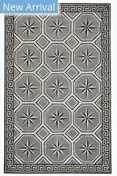 Capel Anthony Baratta Perimeter 9182 Grey Area Rug