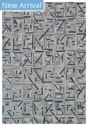 Exquisite Rugs Natural Hair on Hide Gray - Blue Area Rug