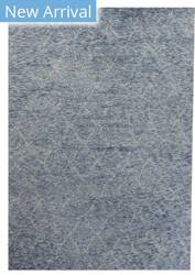 Exquisite Rugs Moroccan Hand Knotted Silver - Aqua Area Rug