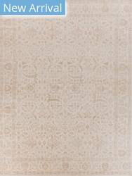 Exquisite Rugs Restoration Hand Woven Ivory Area Rug