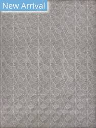 Exquisite Rugs Pavilion Flatwoven Gray Area Rug