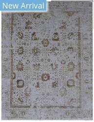 Exquisite Rugs Lexington Hand Knotted Silver - Gold Area Rug