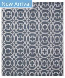 Exquisite Rugs Windsor Hand Woven Gray - Blue Area Rug