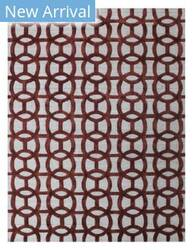 Exquisite Rugs Windsor Hand Woven Rust - Gray Area Rug
