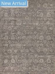 Exquisite Rugs Meena Hand Knotted Gray - Dark Gray Area Rug