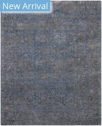 Exquisite Rugs Beverly Hand Knotted Blue Area Rug