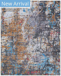 Exquisite Rugs Antolini Hand Woven Gray Area Rug