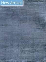 Exquisite Rugs Wave Hand Woven Navy Area Rug