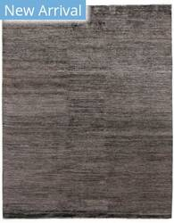Exquisite Rugs Crush Hand Knotted Charcoal - Gray Area Rug