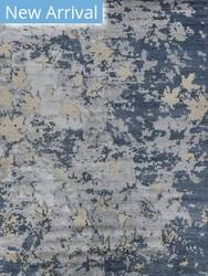 Exquisite Rugs Abstract Expressions Hand Knotted Dark Gray - Black Area Rug