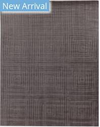Exquisite Rugs Robin Embossed Hand Woven Gray Area Rug