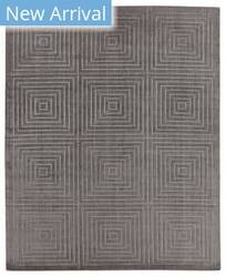 Exquisite Rugs Robin Embossed Hand Woven Dark Gray Area Rug
