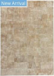 Exquisite Rugs Capri Hair on Hide Beige Area Rug