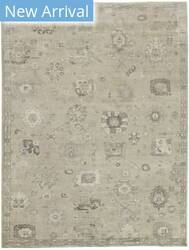 Exquisite Rugs Museum Hand Knotted Beige Area Rug