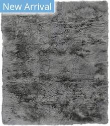 Exquisite Rugs Royal Sheepskin Shag Gray Area Rug