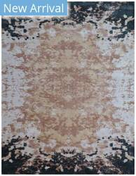 Exquisite Rugs Koda Hand Woven Ivory - Black Area Rug