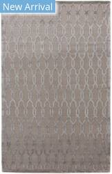 Exquisite Rugs Harmony Tibetan Hand Knotted Light Silver Area Rug