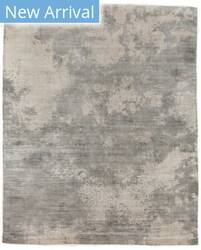 Exquisite Rugs Koda Hand Woven Silver - Ivory Area Rug