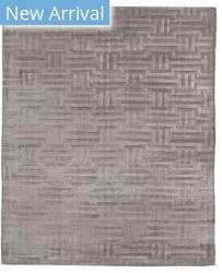 Exquisite Rugs Smooch Geo Hand Woven Silver Area Rug