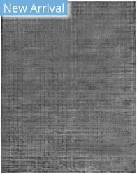 Exquisite Rugs Smooch Geo Hand Woven Dark Gray Area Rug