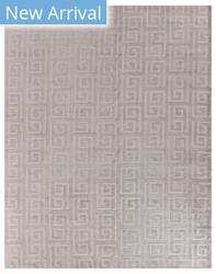 Exquisite Rugs Samara Hand Woven Light Silver Area Rug