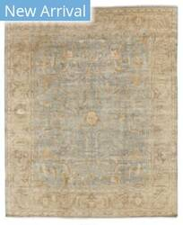 Exquisite Rugs Oushak Hand Knotted Light Green - Beige Area Rug