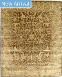 Exquisite Rugs Oushak Hand Knotted Tobacco - Beige Area Rug
