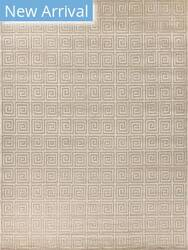 Exquisite Rugs Greco Hand Knotted Beige Area Rug