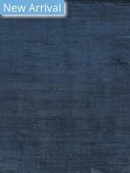 Exquisite Rugs Courduroy Hand Woven Navy Area Rug