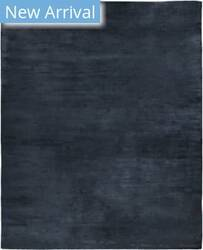 Exquisite Rugs Plain Dove Hand Woven Navy Area Rug