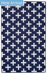 Feizy Aubrey I4801 Navy - White Area Rug