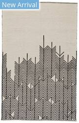 Feizy Bashia I0549 Black - White Area Rug