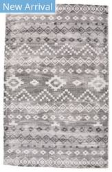 Feizy Bethania 8748f Ivory - Charcoal Area Rug