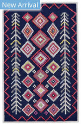 Feizy Awareh I8015 Navy - Multi Area Rug