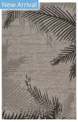 Lr Resources Captiva 81016 Beige - Black Area Rug