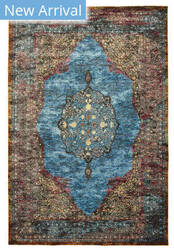 Lr Resources Gala 81272 Turquoise Multi Area Rug
