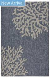 Lr Resources Captiva 81017 Navy - Gray Area Rug