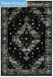 Lr Resources Infinity 81308 Black Gray Area Rug