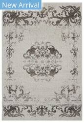 Lr Resources Infinity 81333 Gardenia - Walnut Area Rug