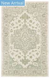 Lr Resources Modern Traditions 81289 Sea Green - Gray Area Rug