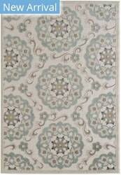 Lr Resources Tranquility 81361 Moonrock - Light Blue Area Rug