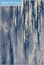 Nourison Lido Lid04 Blue - Cream Area Rug