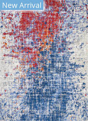 Nourison Twilight Twi25 Red - Blue Area Rug