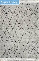 Nuloom Nieves Moroccan Diamond Grey Area Rug