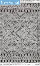 Nuloom Vasiliki Moroccan Grey Area Rug